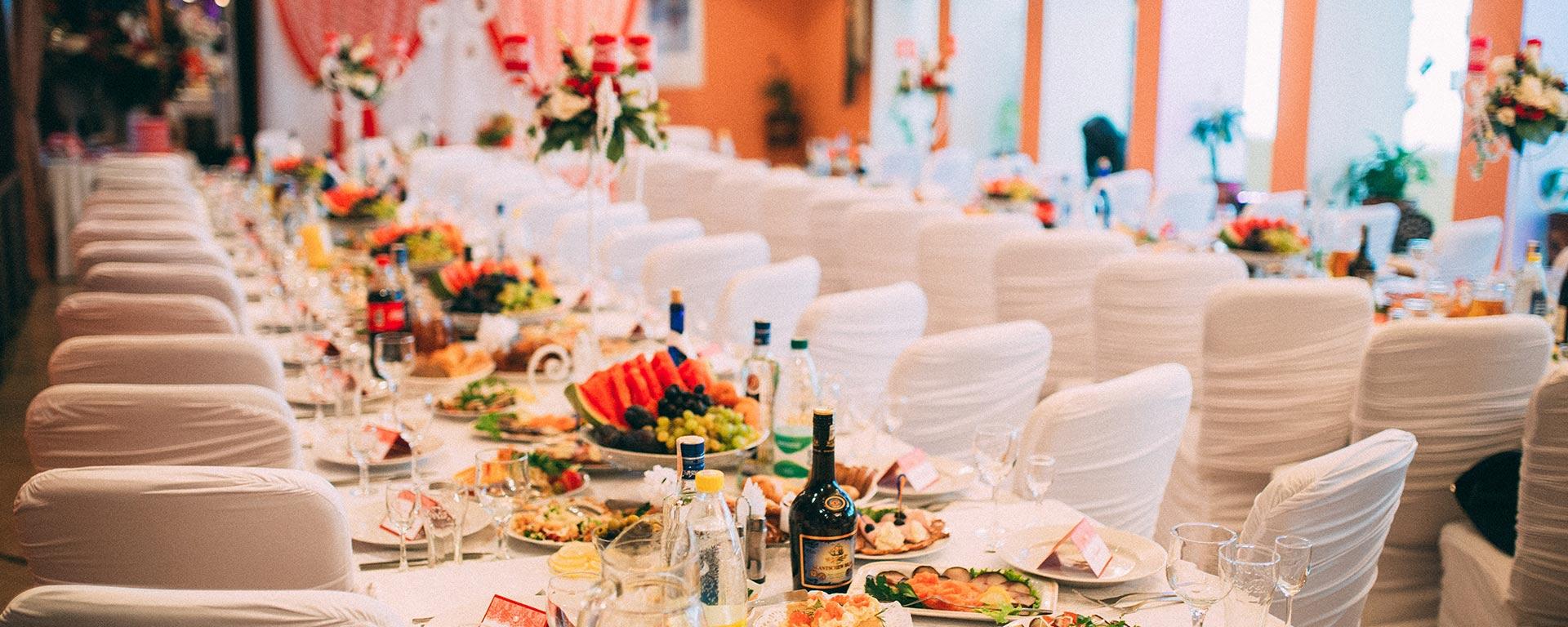 Фото свадеб в ресторане